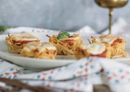 Vegetarisches Rezept: Pasta Frittata Muffins 1