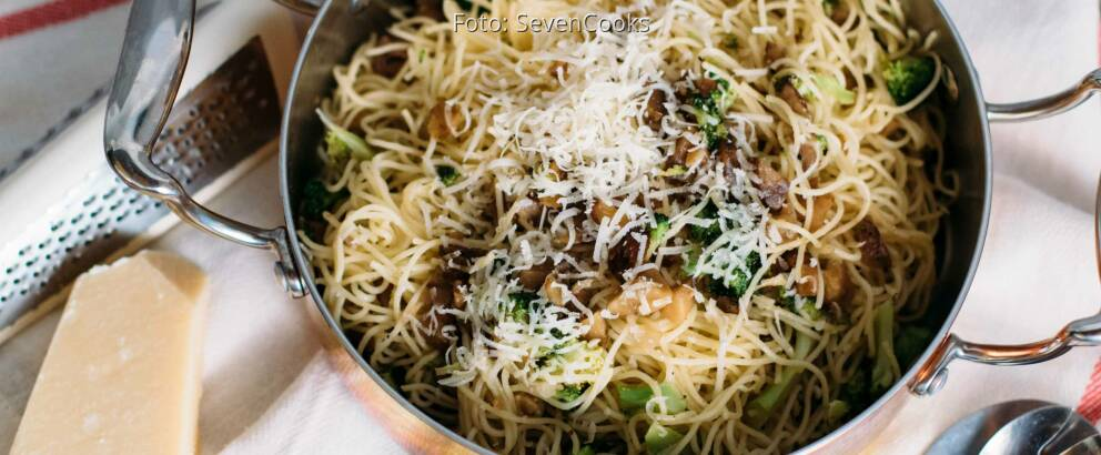 Vegetarisches Rezept: Pasta mit gehackten Maronen 2