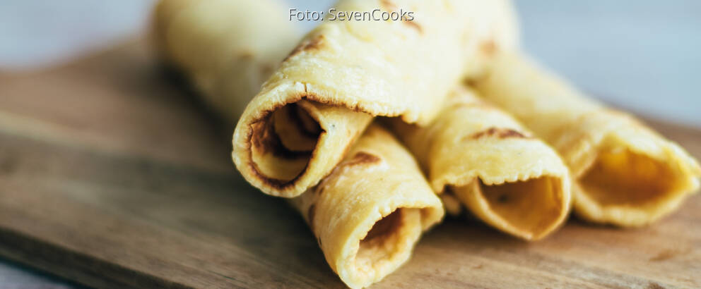 Vegetarisches Rezept: Pfannkuchen