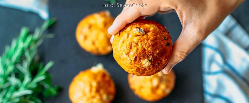 Vegetarisches Rezept: Pizza-Muffins_2