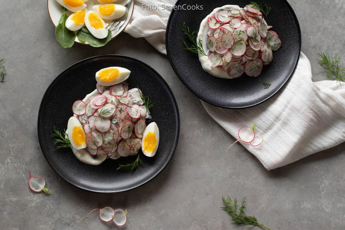 Vegetarisches Rezept: Radieschensalat