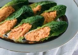 Vegetarisches Rezept: Romanasalat-Sticks_1