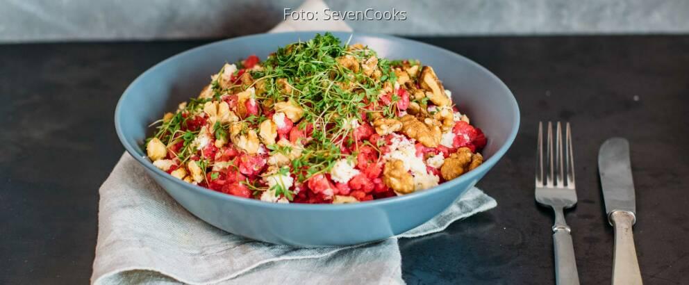 Vegetarisches Rezept: Rote Bete Spätzle 3