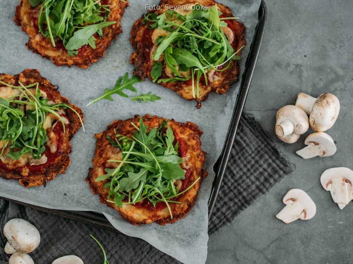Vegetarisches Rezept: Rösti Pizza 1
