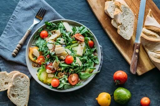 Vegetarisches Rezept: Rucolasalat_1