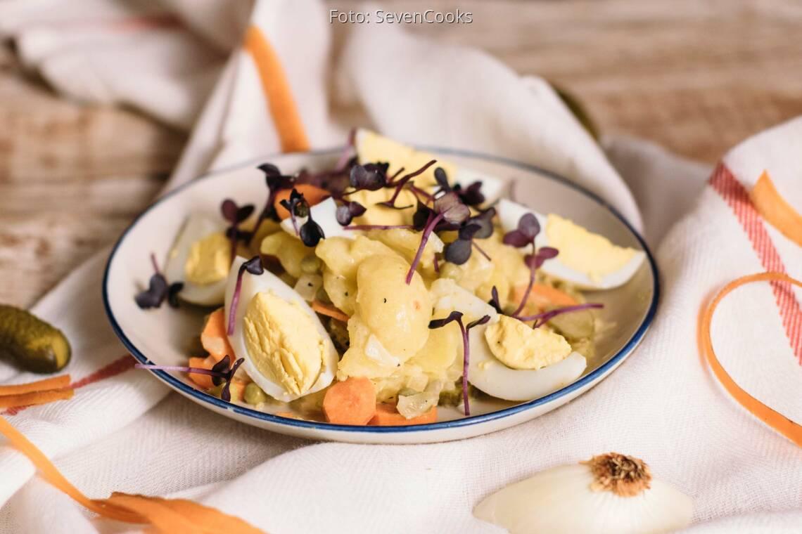 Vegetarisches Rezept: Schlesischer Kartoffelsalat_1
