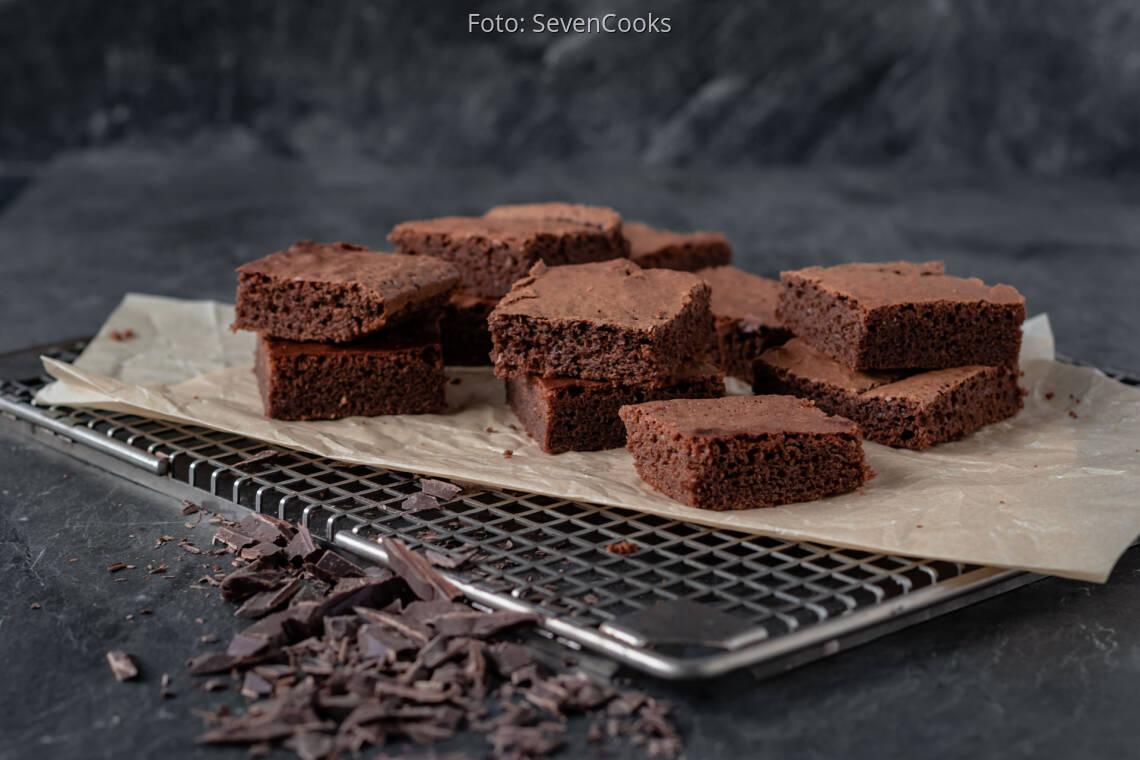 Vegetarisches Rezept: Schoko-Brownies 1