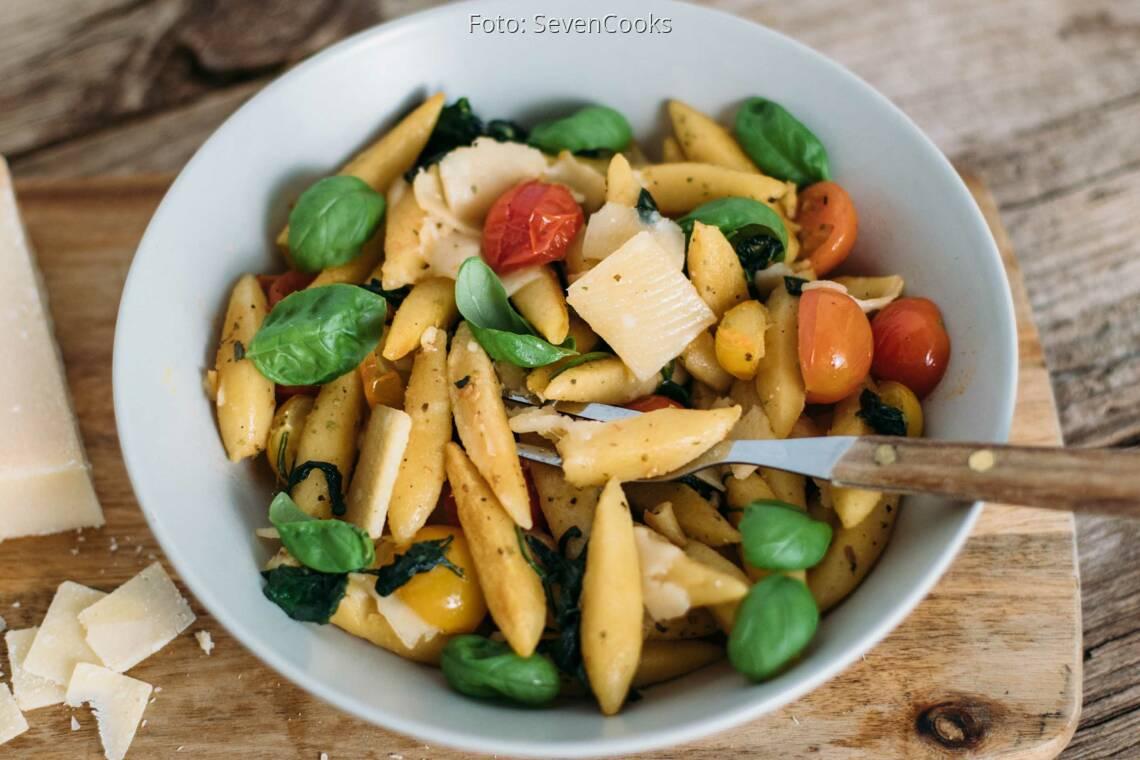 Vegetarisches Rezept: Schupfnudeln Italiänischer Art