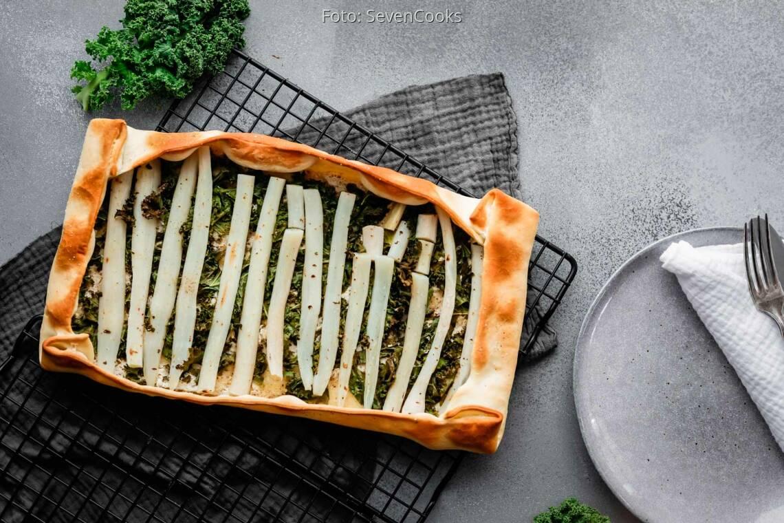 Vegetarisches Rezept: Schwarzwurzel-Galette 1