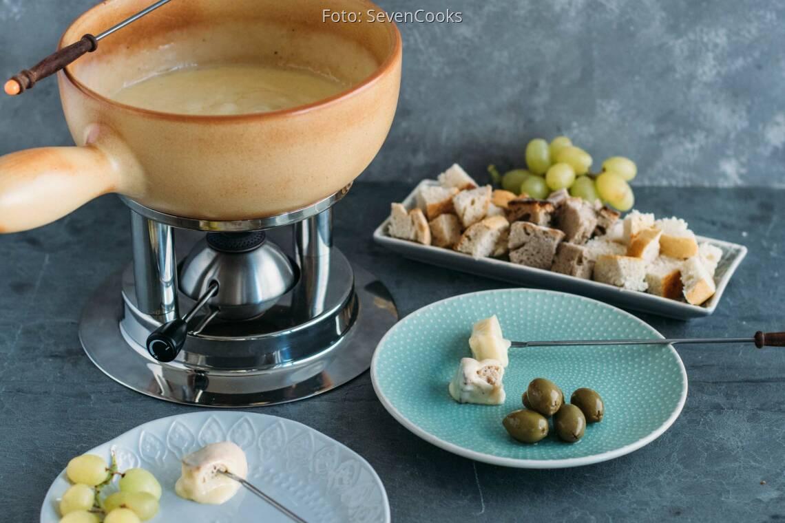 Vegetarisches Rezept: Schweizer Käsefondue_1