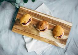 Vegetarisches Rezept: Scones mit Rhabarberkompott_1