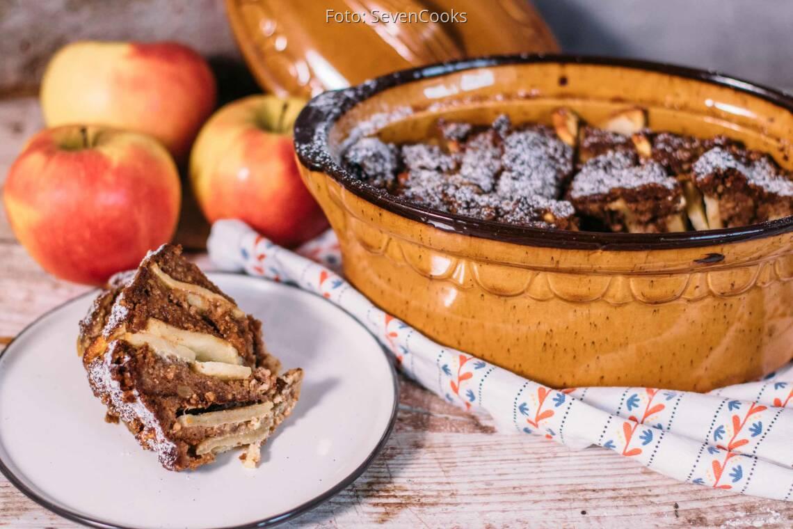 Vegetarisches Rezept: Süßer Lebkuchen–Auflauf 1