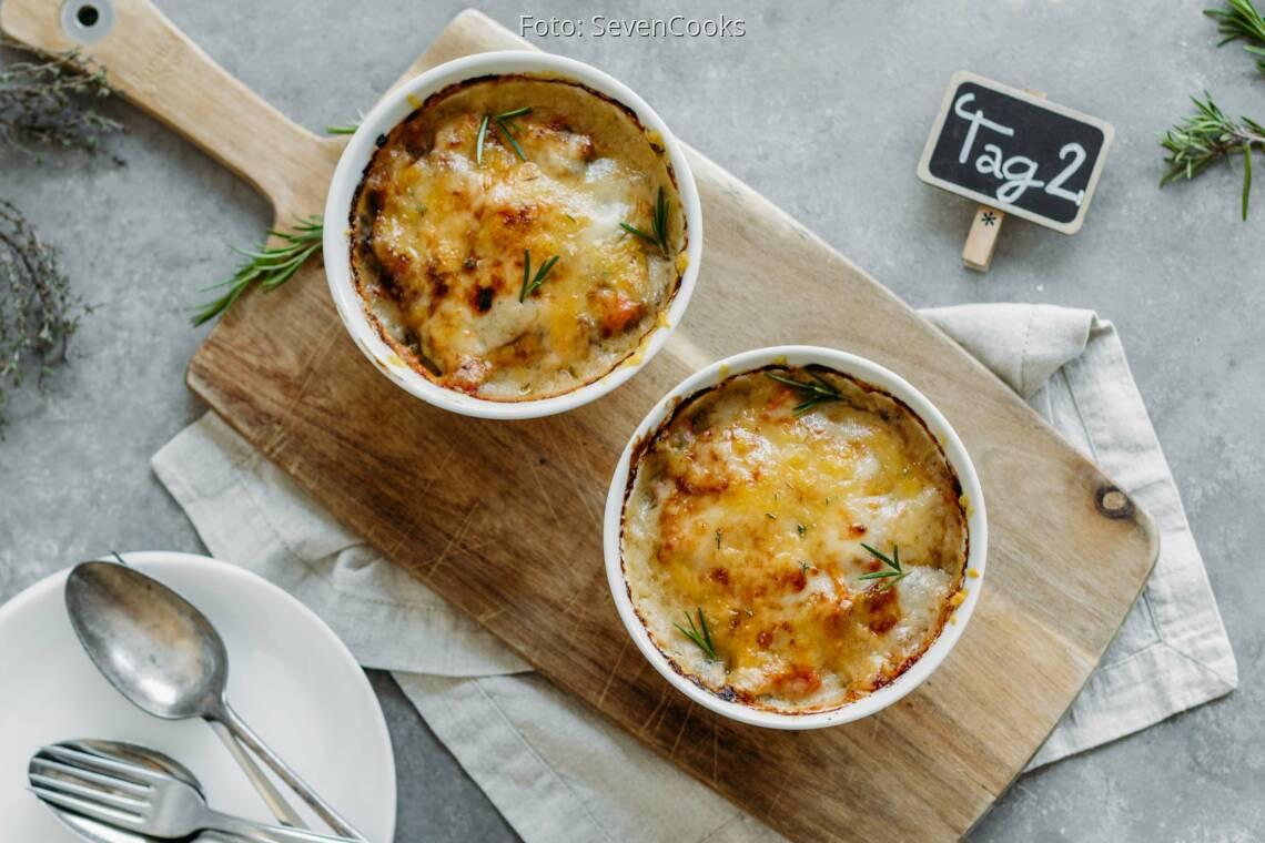 Vegetarisches Rezept: Soulfood Meal-Prep 2: Kürbis-Graupen-Auflauf_1_Schild