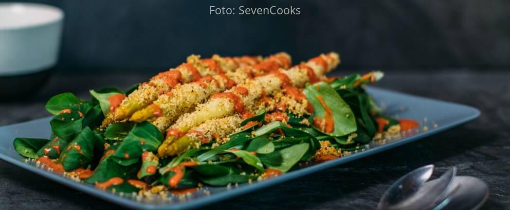 Vegetarisches Rezept: Spargel à la Bordelaise 3