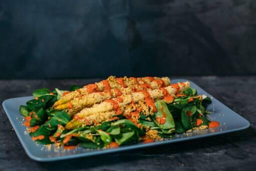 Vegetarisches Rezept: Spargel à la Bordelaise 1