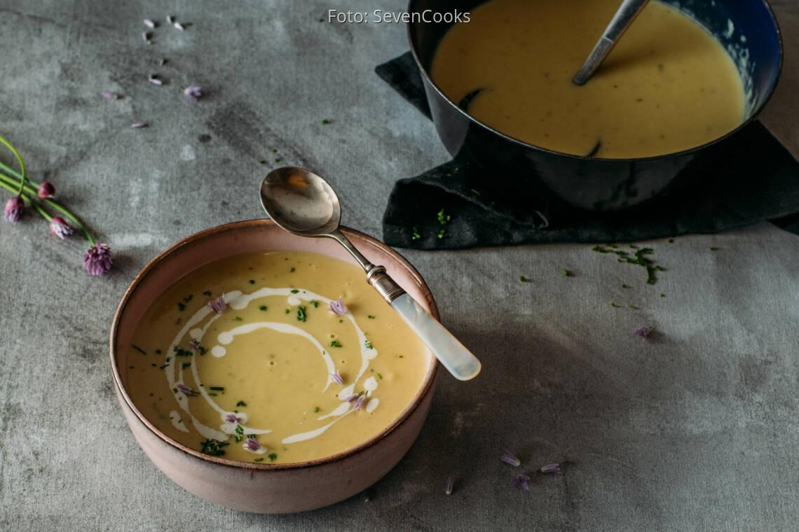 Vegetarisches Rezept: Spargelcremesuppe 1