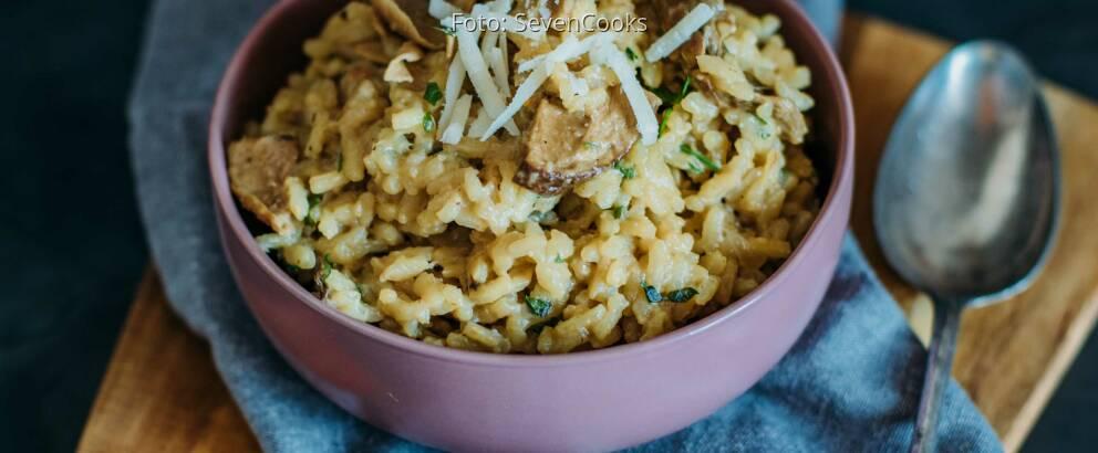 Vegetarisches Rezept: Steinpilzrisotto_2