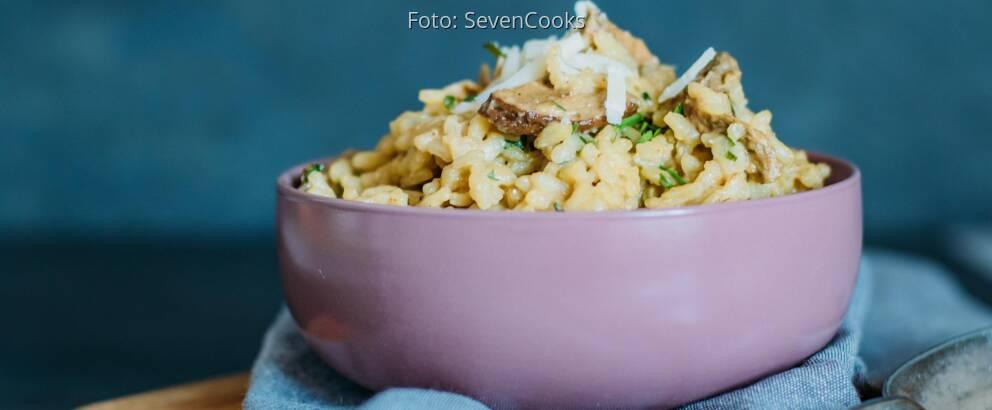 Vegetarisches Rezept: Steinpilzrisotto_3
