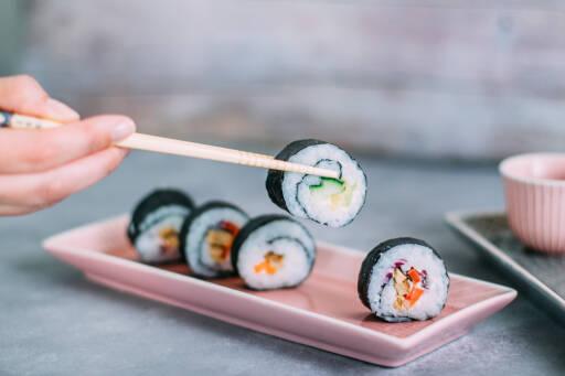 Vegetarisches Rezept: Sushi