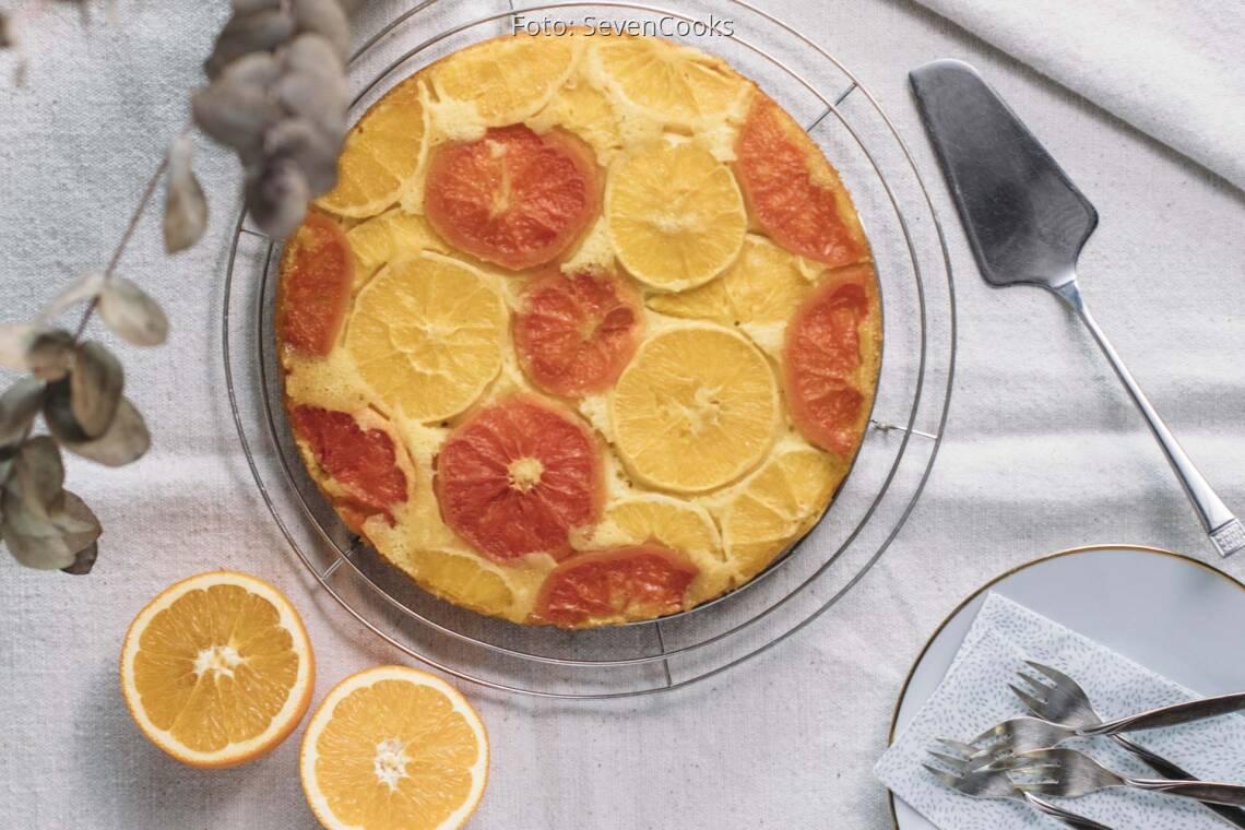 Vegetarisches Rezept: Upside down Kuchen 1