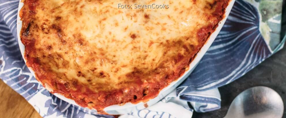 Vegetarisches Rezept: Weisskohl Lasagne mit Sojahack