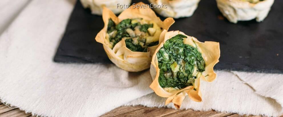 Vegetarisches Rezept: Yufka-Törtchen_2