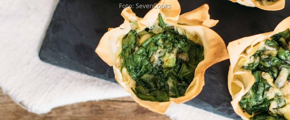 Vegetarisches Rezept: Yufka-Törtchen_3