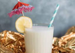 Vegetarisches Rezept: Zitronen-Prosecco-Milkshake_1