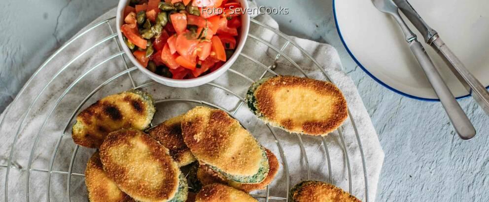 Vegetarisches Rezept: Zucchini-Piccata 2