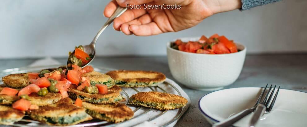 Veganes Rezept: Zucchini-Piccata 3