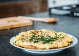 Vegetarisches Rezept: Zucchini-Pilz-Tortilla