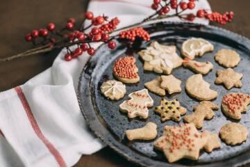 Weihnachtliche Gebäck-Klassiker in vegan: Header