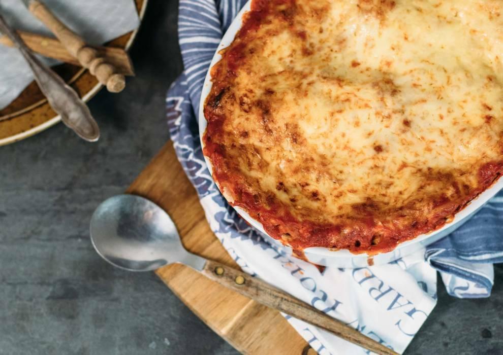 Weißkohl Lasagne mit Sojahack
