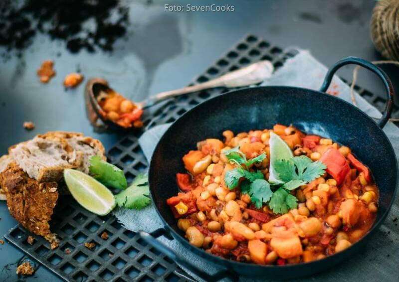 Wochenplan beliebteste Rezepte: Kichererbsen Chili