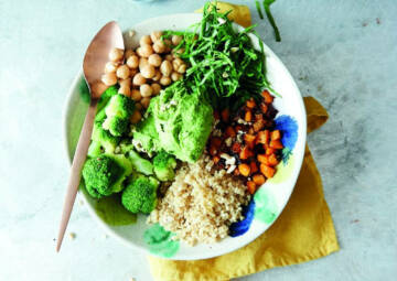 Wochenplan Clean Eating: Bowl