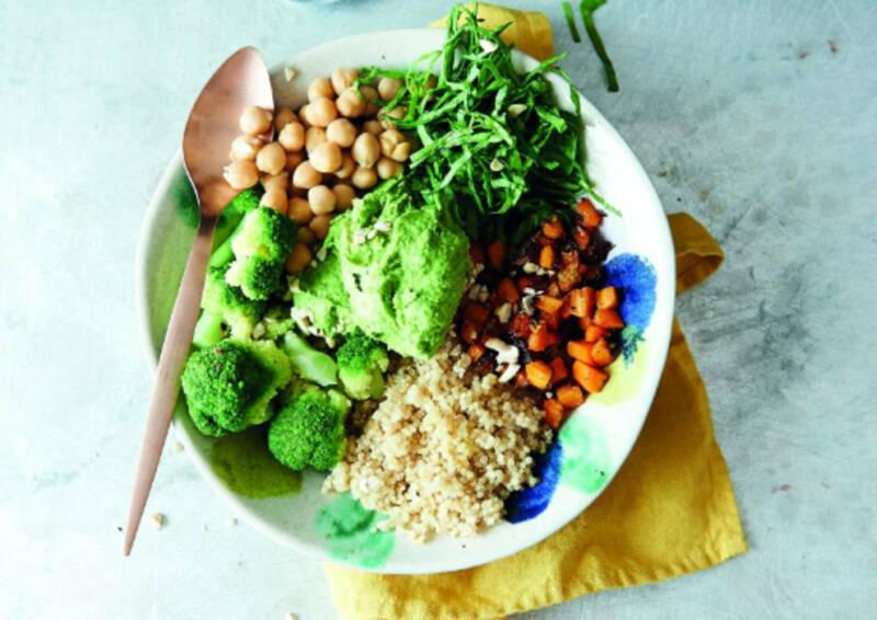 Wochenplan Clean Eating: Bowl