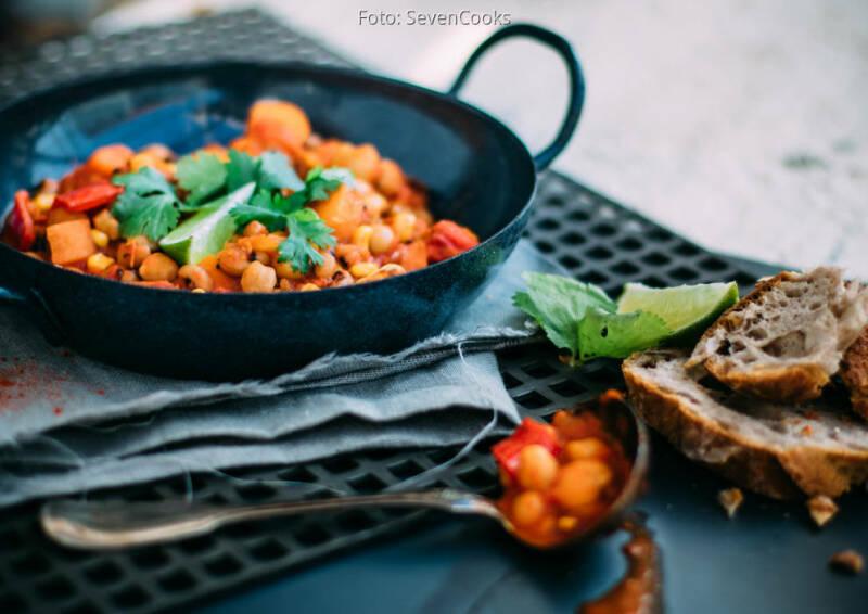 Wochenplan Heiße Gerichte: Kichererbsen chili