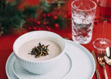 Wochenplan Heiße Gerichte: schwarze rettich suppe