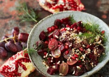 Wochenplan Immunsystem Rote Bete Salat