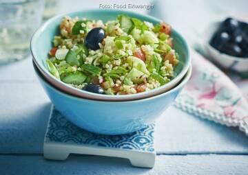Wochenplan Leicht & erfrischend: Gurkensalat mit bulgur