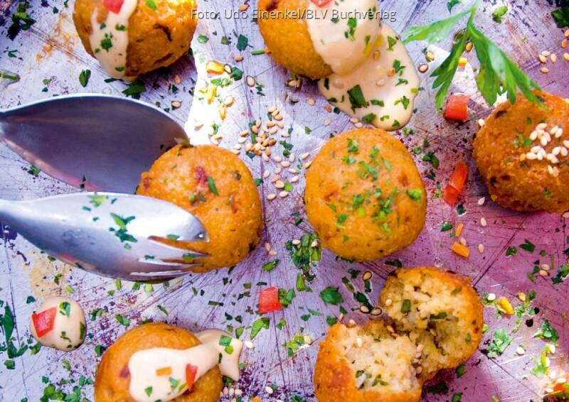 Wochenplan Levante: Falafel mit Tahinsauce