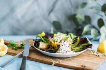 Wochenplan Levante: Glutenfreier orientalischer Couscous-Salat
