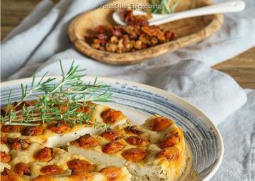 Wochenplan Mediterran: dottet tomate cheescakek