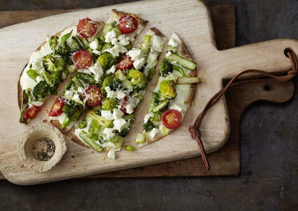 Wochenplan Saison Mai: Tortilla Pizza