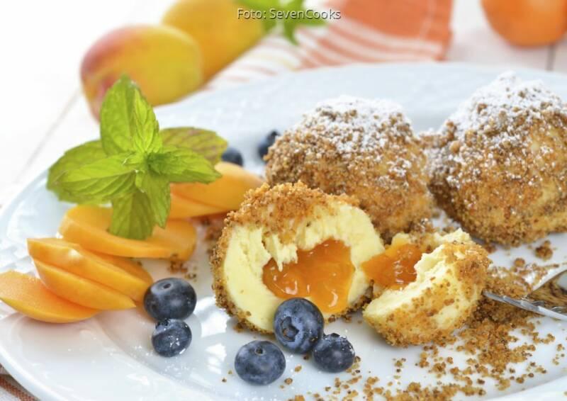 Wochenplan Saisonal im August: aprikosenknoedel