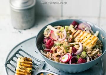 Wochenplan Saisonal im August: fenchel hafer salat