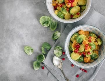 Wochenplan unterschätztes Gemüse: rosenkohl curry