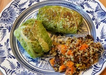 Wochenplan unterschätztes Gemüse: Wirsing-Rouladen