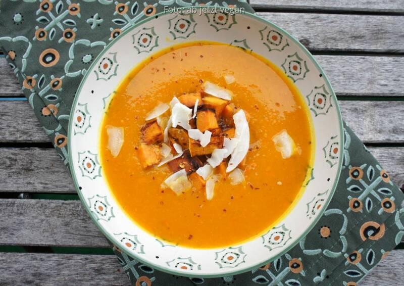 Wochenplan wärmend Herbst: Kürbissuppe