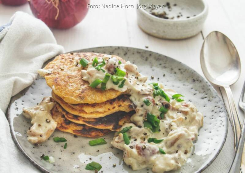Wochenplan wärmend Herbst: Sauerkrautpancakes